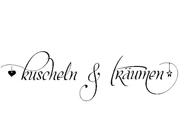 Wandtattoo kuscheln u0026 träumen - Kuscheln PNG