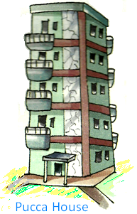Kutcha House PNG - 46007