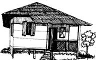 Kutcha House PNG - 46006