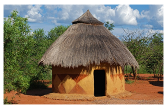 Kutcha House PNG - 45996