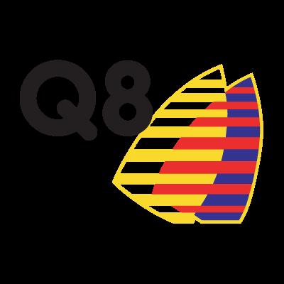 Q8 logo vector . - Kuwait Petroleum Vector PNG