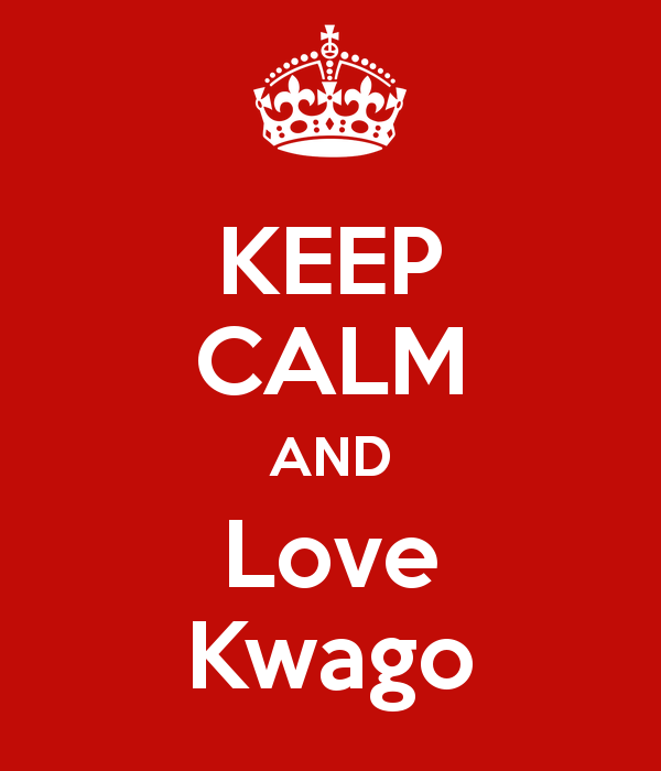 . PlusPng.com KEEP CALM AND Love Kwago PlusPng.com  - Kwago PNG