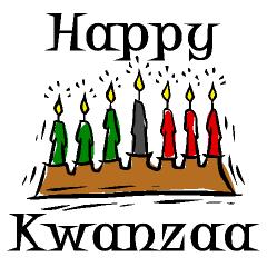 Happy Kwanzaa Candles Graphic - Kwanzaa PNG