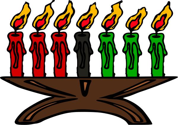 kinara Kwanzaa Candles - Kwanzaa PNG