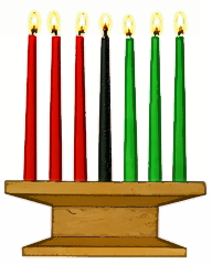 kwanzaa candles 2 - Kwanzaa PNG