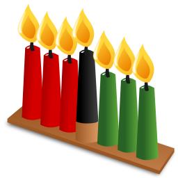 kwanzaa icon candles - Kwanzaa PNG