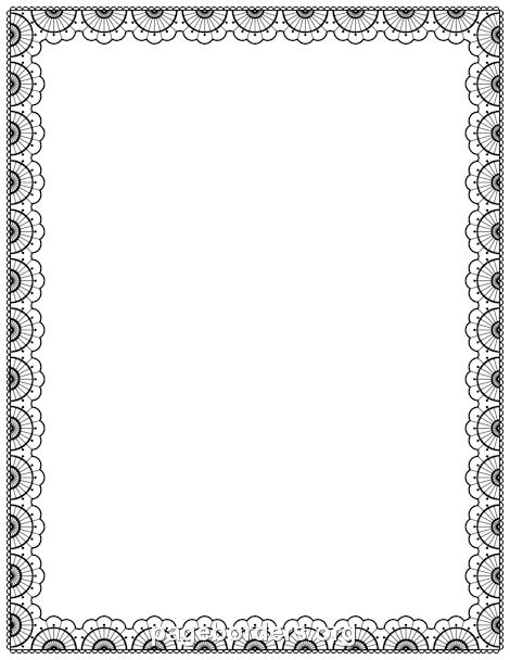 Laceborder HD PNG - 92965