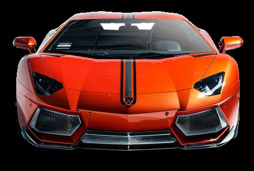 Lamborghini Aventador Coupe Front View Car PNG Image - Lamborghini HD PNG