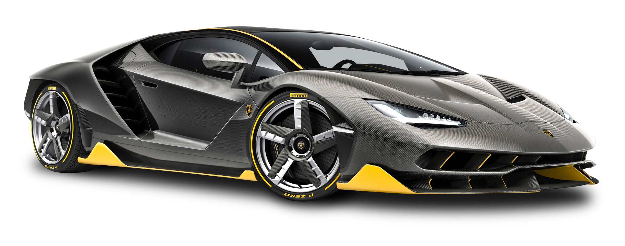 Lamborghini Centenario LP 770 4 Black Car PNG Image - Lamborghini PNG