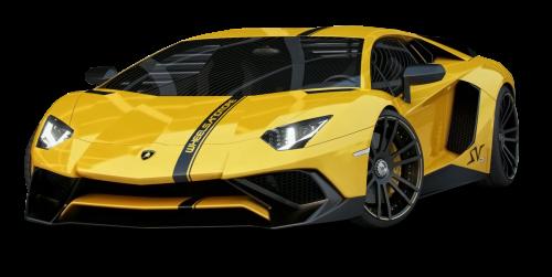 Yellow Lamborghini Aventador Car PNG Image - Lamborghini PNG