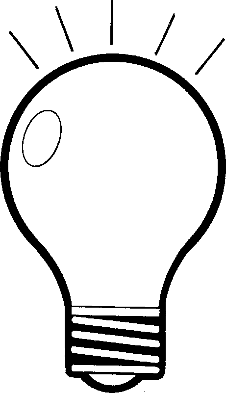 lamp clipart black and white - Lamp PNG Black And White