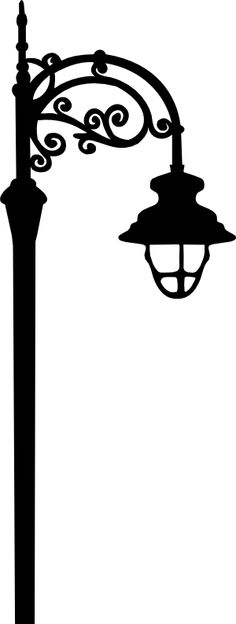pin Streetlight clipart black and white #2 - Lamp PNG Black And White