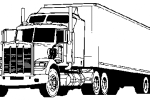 Land Transportation Clipart Black And White - Land Transportation PNG Black And White