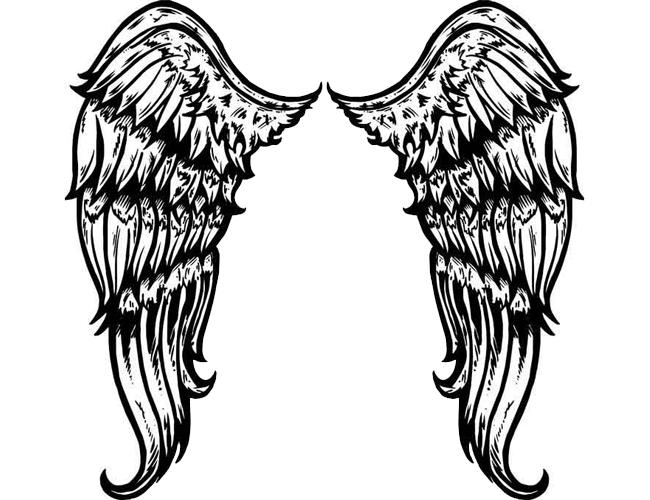 Wings Tattoos PNG - 4614