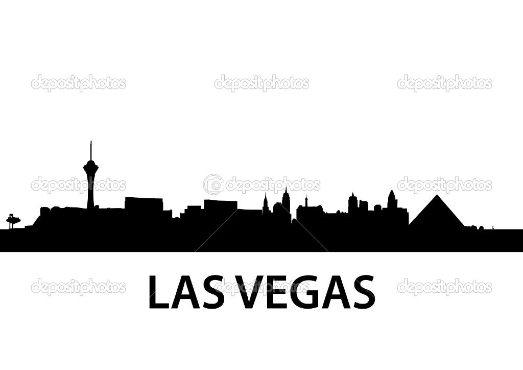 Las Vegas Skyline Vector PNG - 69081