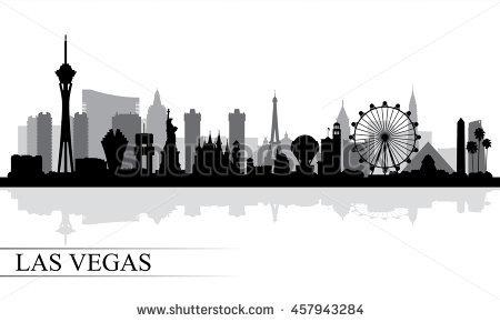 Las Vegas Skyline Vector PNG - 69076