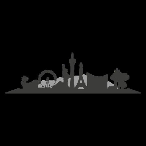 Las Vegas Skyline Vector PNG - 69082
