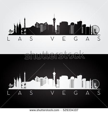 Las Vegas Skyline Vector PNG - 69087