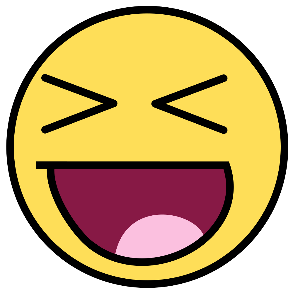 Smiley Faces Laughing So Hard - Clipart library - Laughing PNG HD