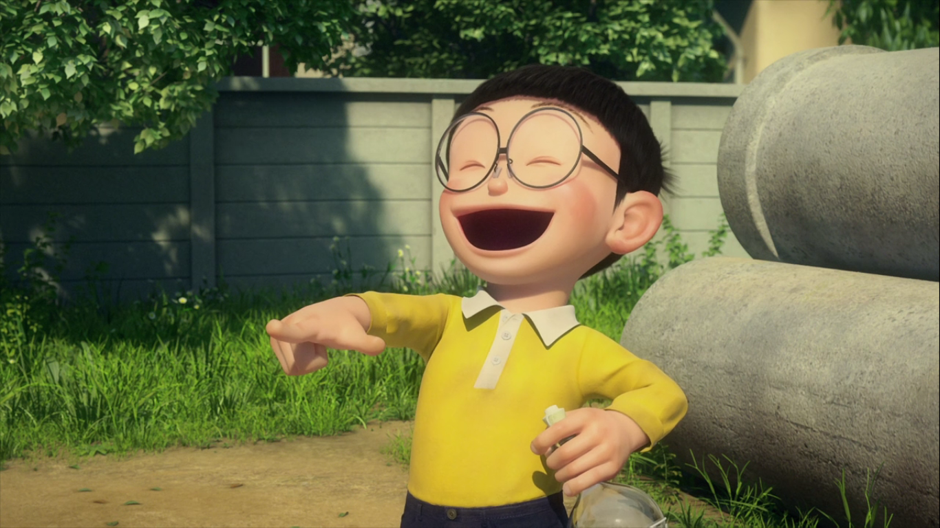 Stand by Me Doraemon Chapter 9 Nobita laughing.png - Laughing PNG HD