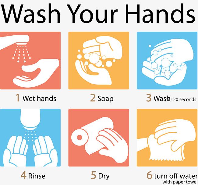 Dessin graphique six étapes de lavage des mains, Se Laver Les Mains De  Diagramme Simple, Laver La Figure PNG et vecteur gratuits - Lavage Des Mains PNG