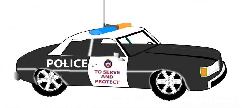Best HD Police Car Art Vector Cdr - Law Enforcement PNG HD
