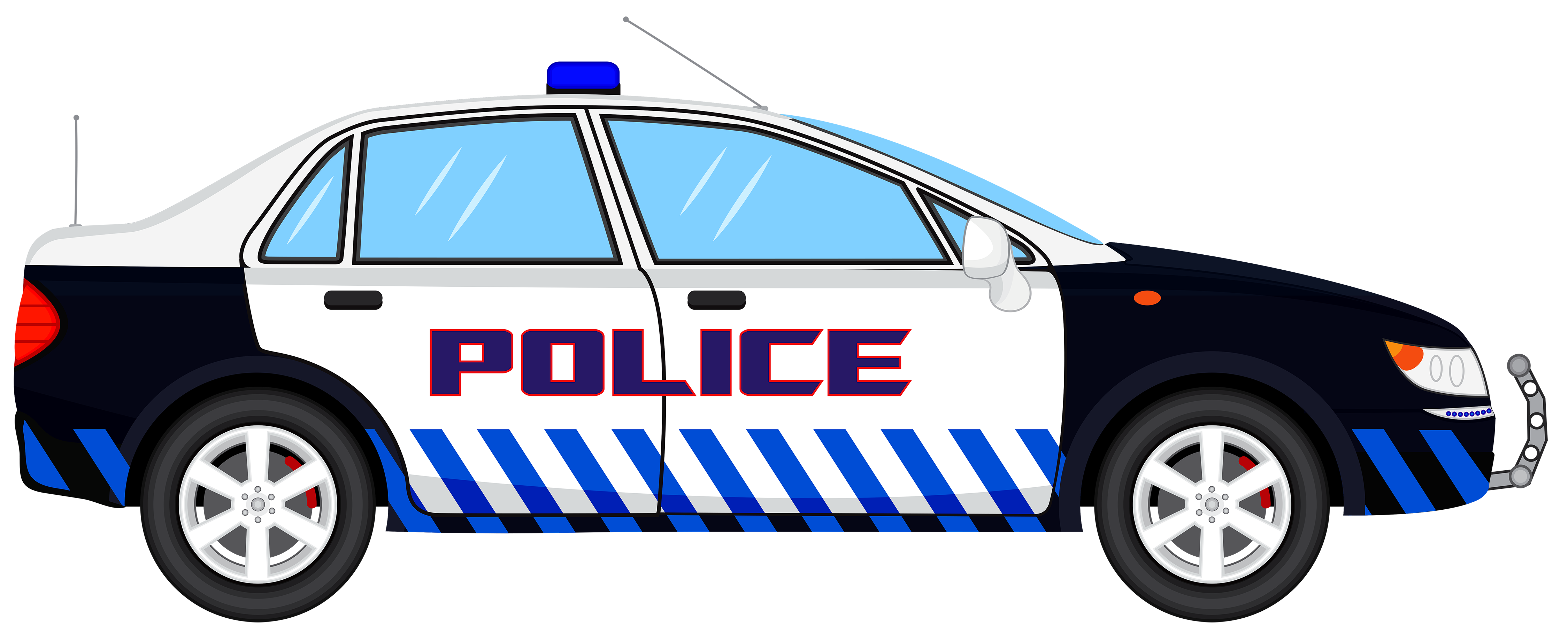 Police car transparent clip art image - Law Enforcement PNG HD