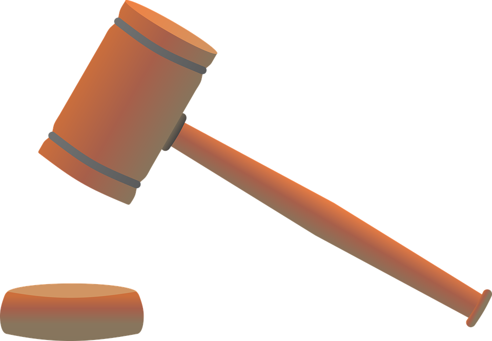 Hammer, Court, Law, Right, Justice, Jura, Regulation - Law Hammer PNG