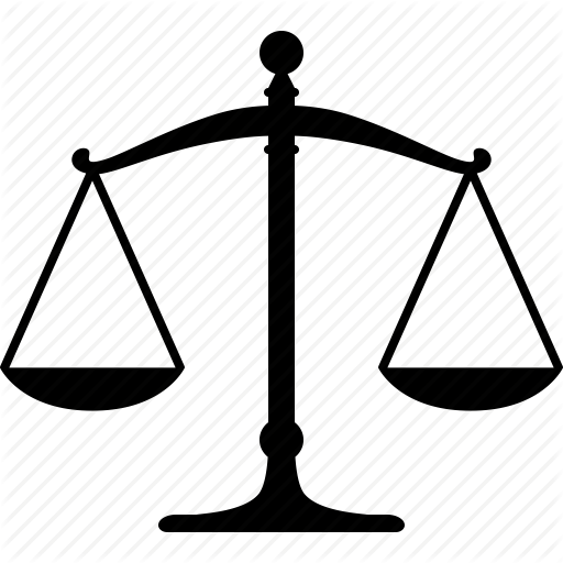 balance, justice, law, legal, libra, scale, weight icon - Law Scale PNG