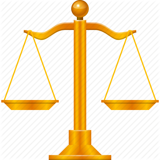 balance, law, lawyer, legal, scale, scales, weight icon - Law Scale PNG