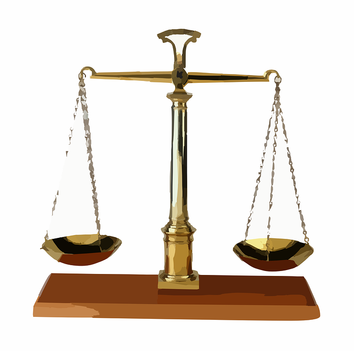 Scales, Law, Judge, Balance, Weighing - Law Scale PNG