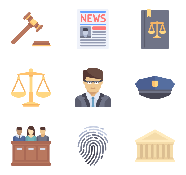 Justice - Lawyer PNG HD