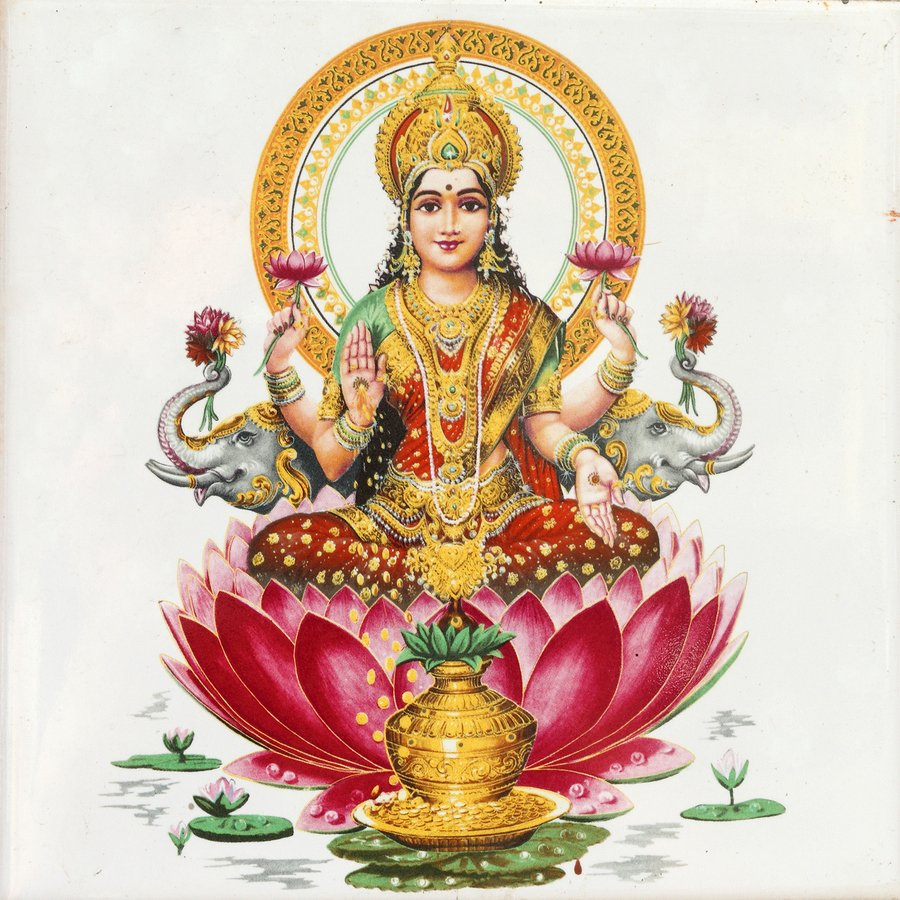 Maha Lakshmi - Laxmi Devi PNG