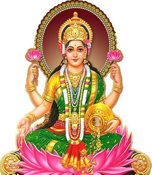 Vabhai Lakshmi Aarti - Laxmi Devi PNG
