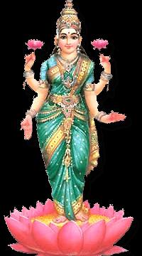 The Third Day Of Diwali - Laxmi PNG