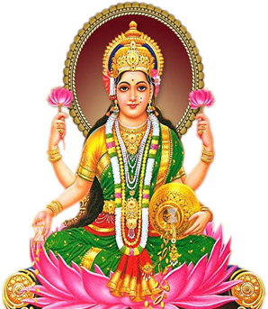 Vabhai Lakshmi Aarti - Laxmi PNG