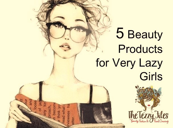 5 Beauty Products for Very Lazy Girls - Lazy Girl PNG