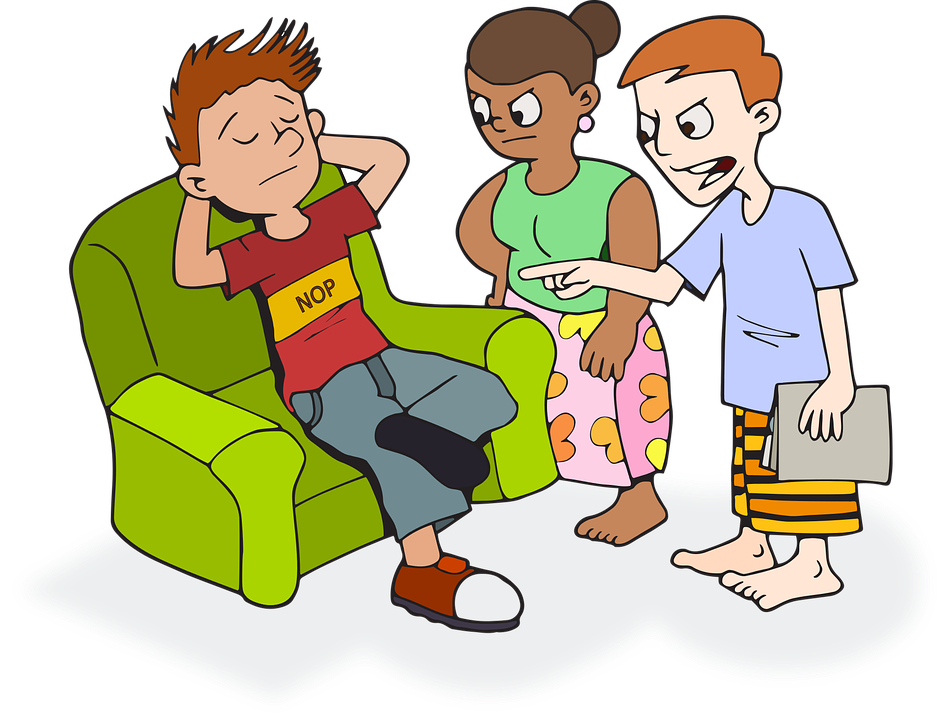 Son, Unemployed, Parents, Nervous, Lazy, Baggy, Home - Lazy Kid PNG