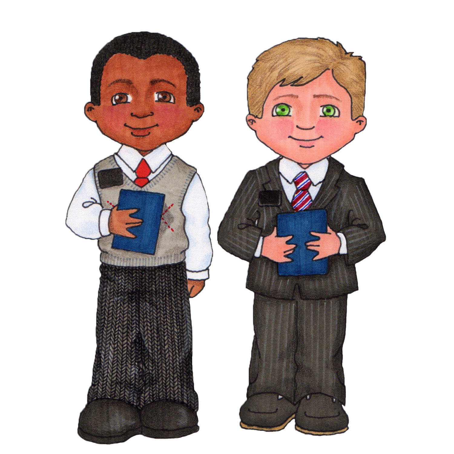 lds clipart missionary - Lds PNG Missionary