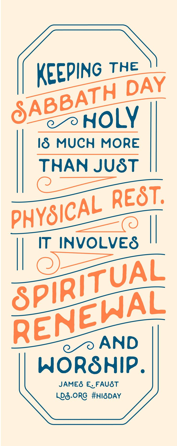 Keeping the Sabbath day holy is much more than just physical rest. It  involvesu2026 - Lds PNG Sabbath Day