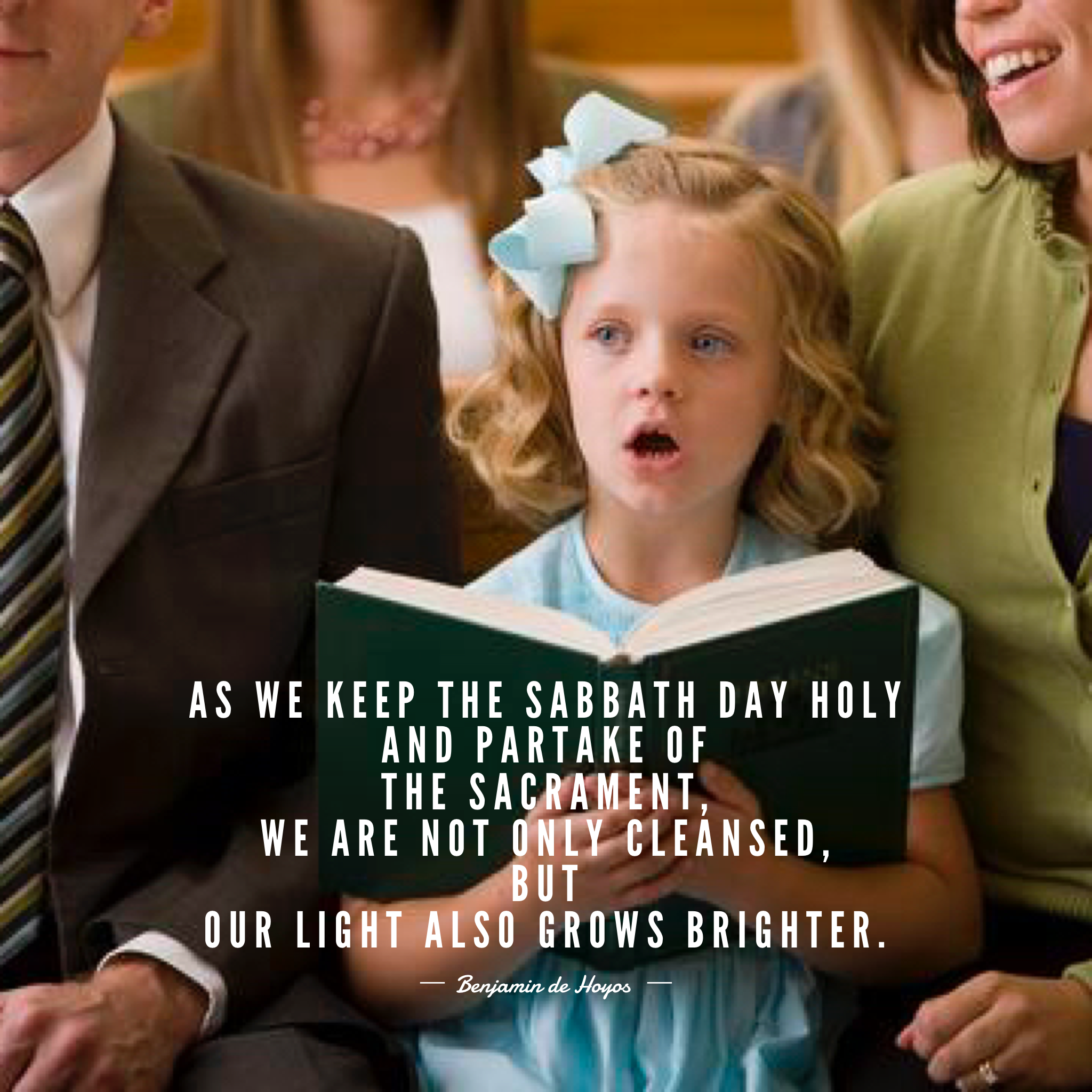#ldsquotes #ldsconf As we keep the Sabbath day holy and partake of the  sacrament - Lds PNG Sabbath Day