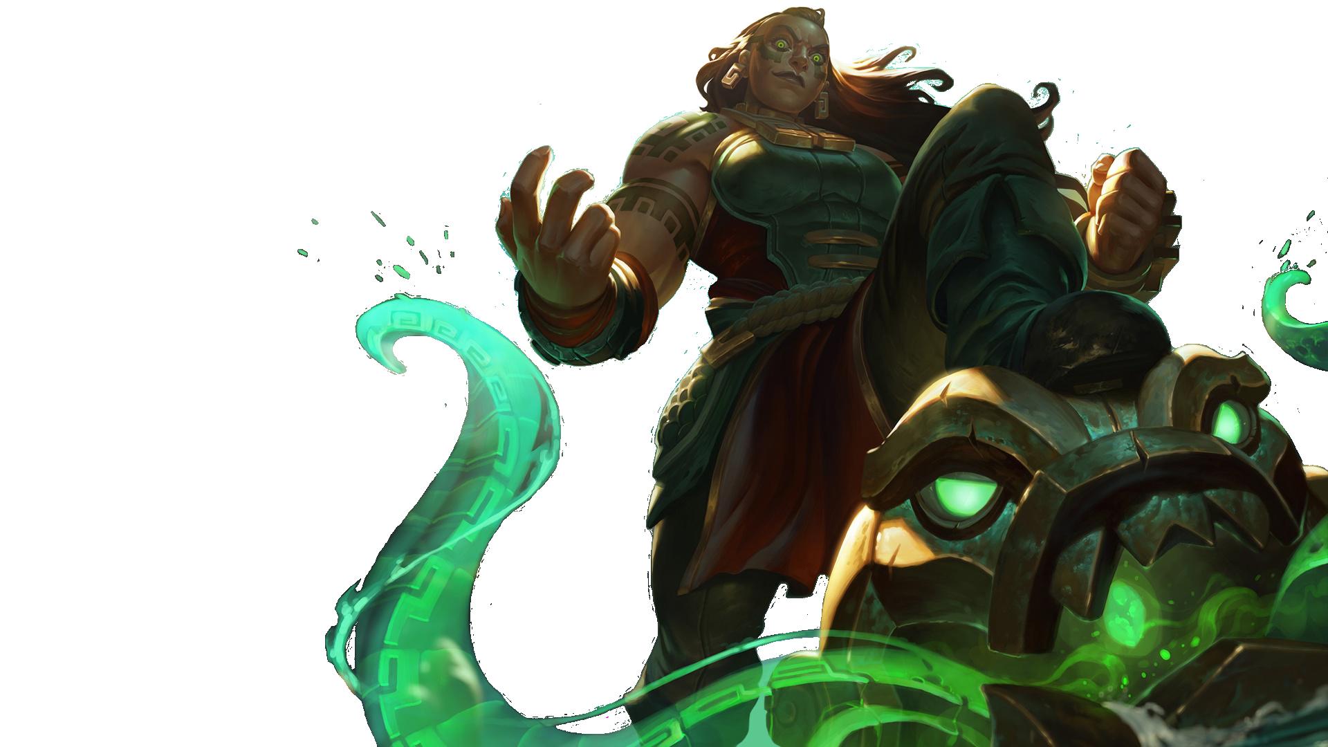 Video Game - League Of Legends Illaoi (League of Legends) Wallpaper - League Of Legends HD PNG