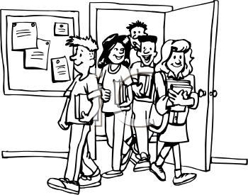 Cartoon Leaving School - Leaving To School PNG