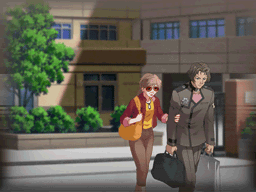 File:Irving and Mary leaving the school.png - Leaving To School PNG