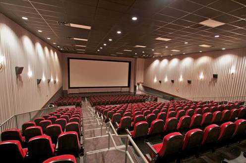 A theater inside the Lincoln Grand Cinema. The downtown Lincoln theater  will be used to - Lecture Hall PNG