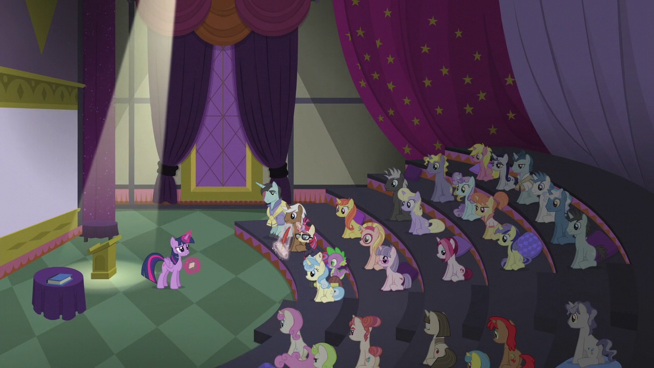 Image - Twilightu0027s lecture hall wide view S5E25.png | My Little Pony  Friendship is Magic Wiki | FANDOM powered by Wikia - Lecture Hall PNG