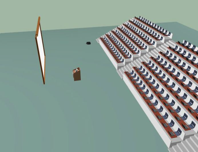 Semicircular Lecture Hall VR - Lecture Hall PNG