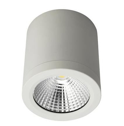 . PlusPng.com LED Ceiling Light Black or White 13W in 3k or 5k Neo Domus Lighting PlusPng.com  - Led PNG Black And White