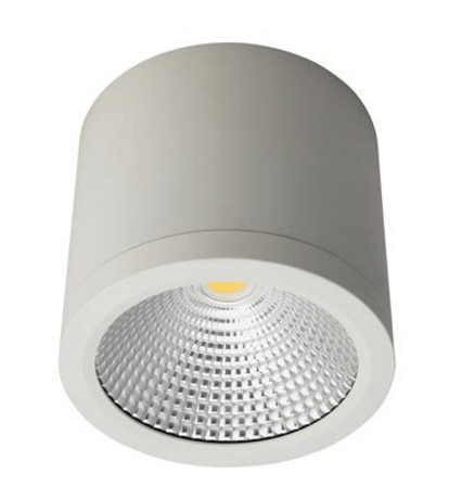 . PlusPng.com LED Ceiling Light Black or White 25W in 3K or 5K Neo Domus Lighting PlusPng.com  - Led PNG Black And White