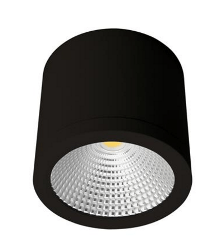 LED Ceiling Light Black or White 25W in 3K or 5K Neo Domus Lighting PlusPng.com  - Led PNG Black And White
